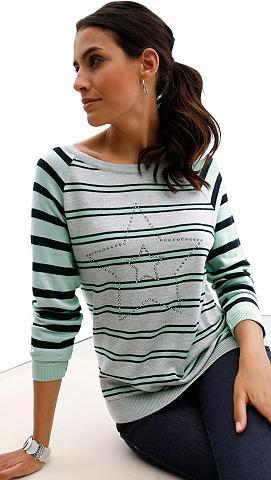 CLASSIC INSPIRATIONEN Megztinis im Streifen-Dessin