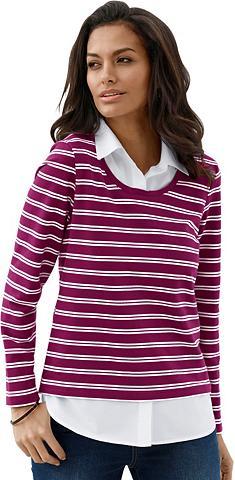 COLLECTION L. Du viename marškinėliai su hochwertig ...