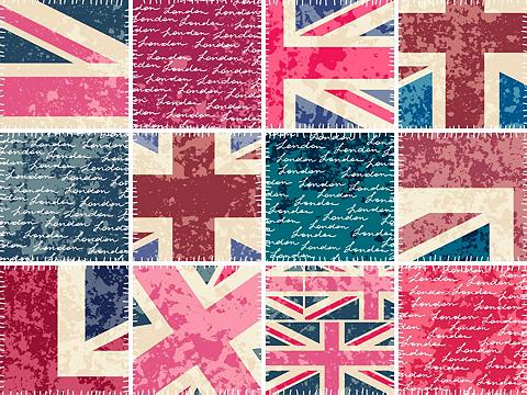 queence Fliesenaufkleber »England«