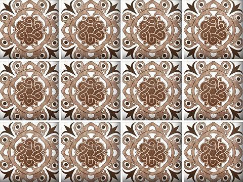 Flisinis tapetas »Mosaik Muster« 12x 1...