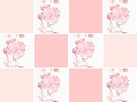 queence Fliesenaufkleber »Blumen«