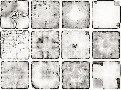 Flisinis tapetas »Verwaschen« 12x 15/1...