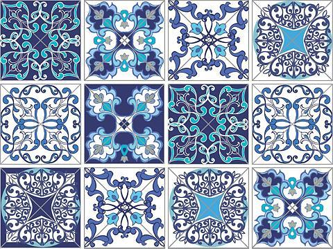 Flisinis tapetas »Muster« 12x 15/15 cm...