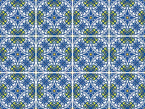 queence Fliesenaufkleber »Muster II«