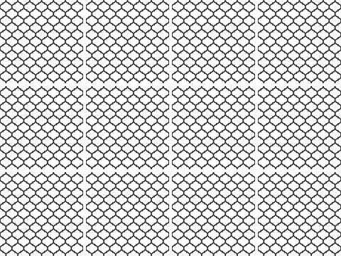 queence Fliesenaufkleber »Muster« (Set 12 vien...