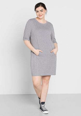 Sheego Sweatkleid su Kängurutasche