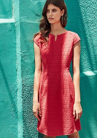 S.OLIVER RED LABEL Medvilninė suknelė su ažurinis raštas ...