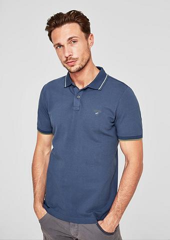 S.OLIVER RED LABEL Įliemenuotas: Polo marškinėliai su Far...