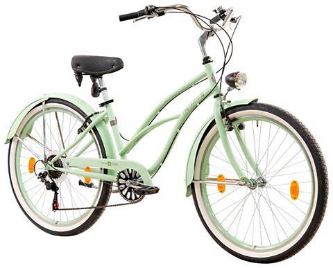 TRETWERK Cruiser-Bike »Oceanside« 26 Zoll 6 Gan...