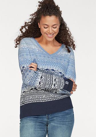 KANGAROOS Kanga ROOS raštuotas megztinis