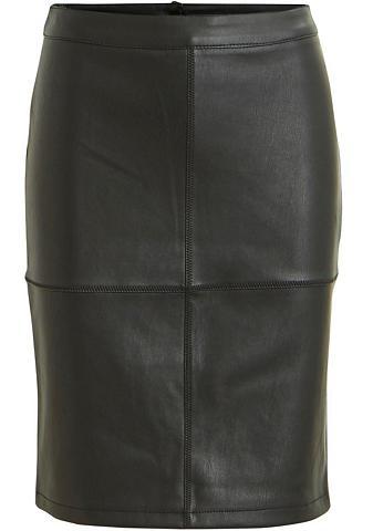 VILA Dirbtinės odos sijonas »PEN«
