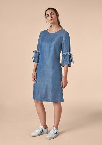 TRIANGLE Sommerliches džinsinė suknelė
