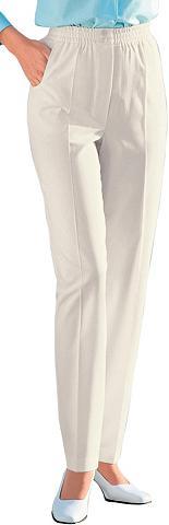 CLASSIC BASICS Laisvos kelnės su plačiu juosmeniu