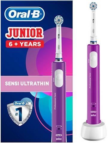 Oral B Elektrische Zahnbürste Junior Purple A...