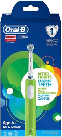 Oral B Elektrische Zahnbürste Junior Green Au...