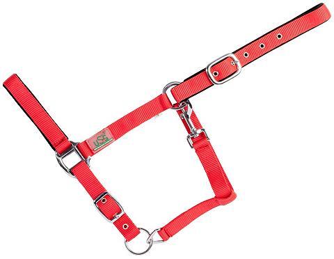 USG Halfter dėl Vollblut raudona