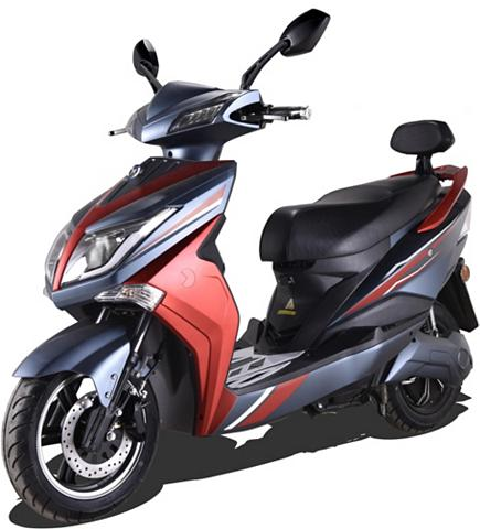 ELEKTROROLLER FUTURA E-Motorroller »Hawk 3000 Li« 3000 W 45...