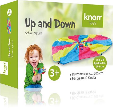 KNORR TOYS Žaidimų parašiutas »Up and Down«
