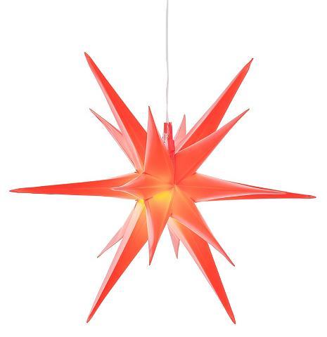 BONETTI LED Stern »3D-Optik« Ø 57 cm su 6-Stun...