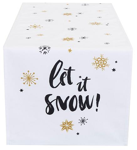 CASATEX Stalo takelis 40x140 cm »Let it snow«