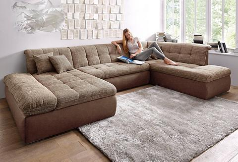 DOMO collection Sofa im XXL-Format patogi su miegojimo...
