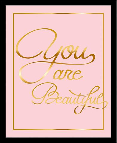 G&C G&C paveikslas »YOU ARE BEAUTIFUL II r...