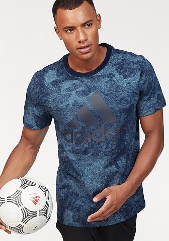 ADIDAS PERFORMANCE Marškinėliai »ESSENTIAL CAMO TEE«