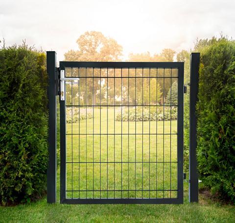 HOME DELUXE Varteliai dėl metalinė tvora Hx L: 1x1...