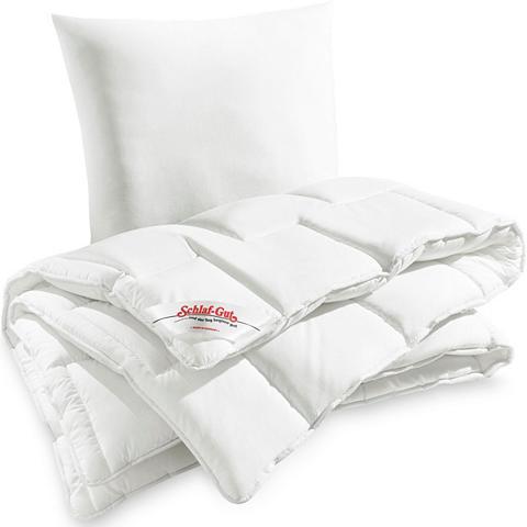 SCHLAF-GUT Rinkinys: antklodė ir pagalvė »Utah« P...