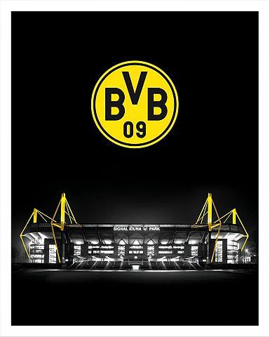 Plakatas »BVB Signal Iduna Park bei Na...