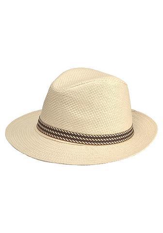 J. JAYZ J.Jayz šiaudinė skrybėlė