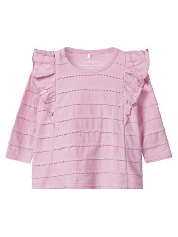 NAME IT Klostės Marškinėliai su ilgis rankovėm...