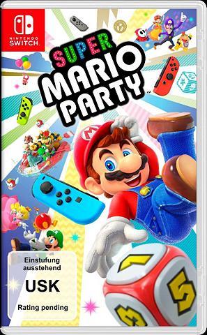 NINTENDO SWITCH Super Mario Party Nintendo Šakotuvas