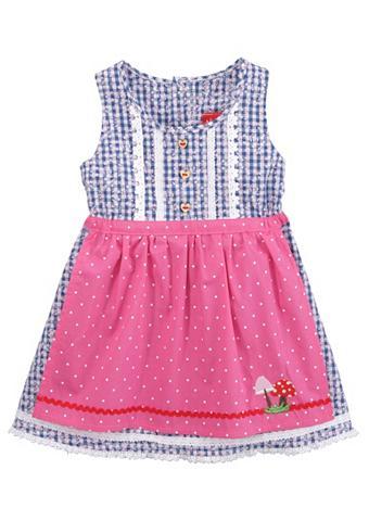 BONDI Tautinio stiliau suknelė Vaikiški iš g...