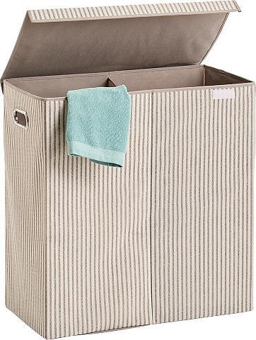 Zeller Present Wäschesortierer »Stripes« 2-fach Vlies...