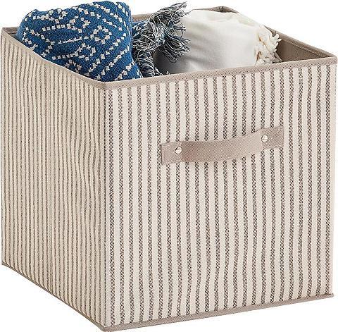Zeller Present Aufbewahrungsbox »Stripes« faltbar Vli...