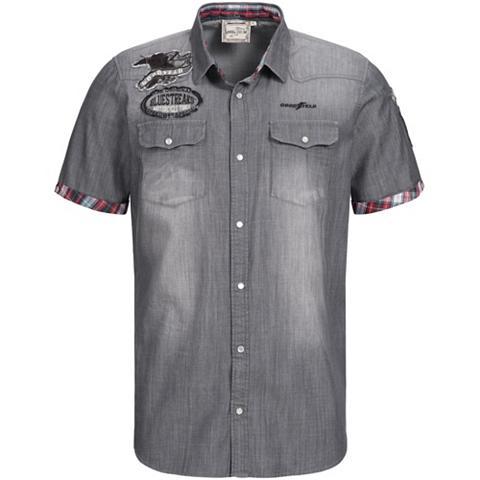 GOODYEAR Marškiniai trumpom rankovėm su siuvinė...