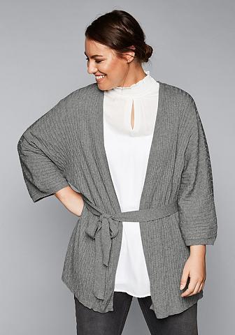 SHEEGO STYLE Sheego Ilgas megztinis