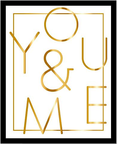 G&C G&C paveikslas »YOU & ME WHITE«