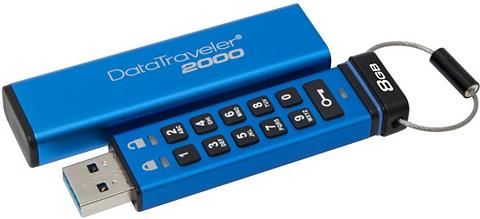 KINGSTON USB laikmena »Data Traveler 2000 Encry...