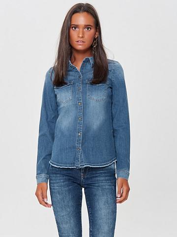 ONLY Raw džinsiniai marškinėliai