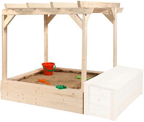 WEKA Smėlio dėžė »Tabaluga« BxTxH: 152x128x...