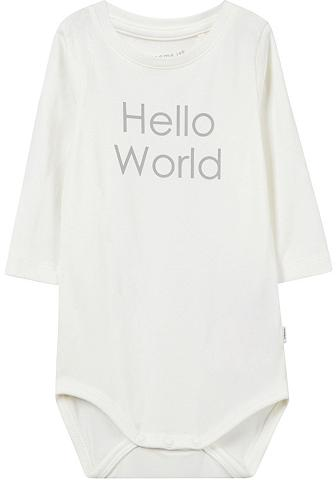 NAME IT Body »HELLO WORLD«