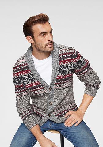 RHODE ISLAND Žakardinis megztinis