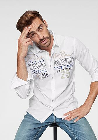CAMP DAVID Marškiniai ilgomis rankovėmis