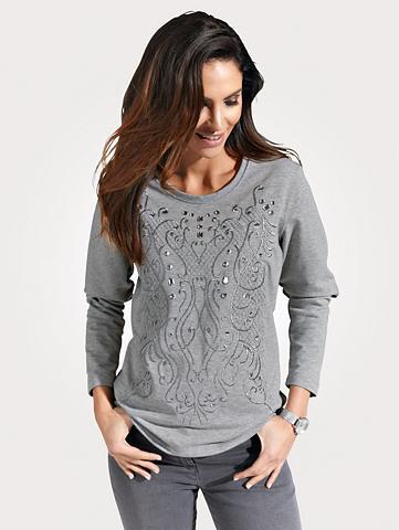 MONA Sportinio stiliaus megztinis su Glanzg...