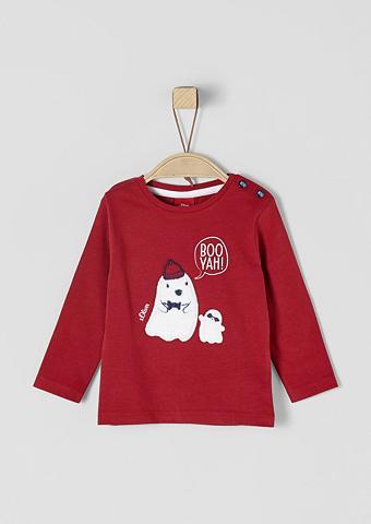 S.OLIVER RED LABEL JUNIOR Marškinėliai ilgomis rankovėmis su Gei...