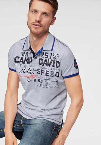 CAMP DAVID Polo marškinėliai