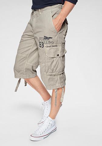 CAMP DAVID Šortai-bermudai su kišenėmis