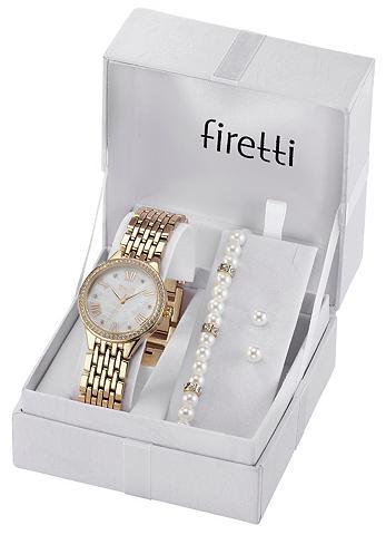 FIRETTI Laikrodis (Rinkinys 4 dalys ir auskara...